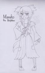 [GIJINKA] Mamiko the Delphox