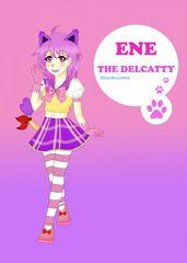 [GIJINKA] Ene the delcatty (colour)