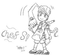 [OC] Chef S พ่อครัวตัวประหลาด