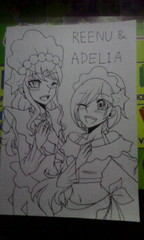 Crossover : Reenu & Adelia The Primarina
