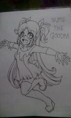 Gijinka : Nume The Goodra