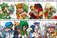 Gijinka : Kiss
