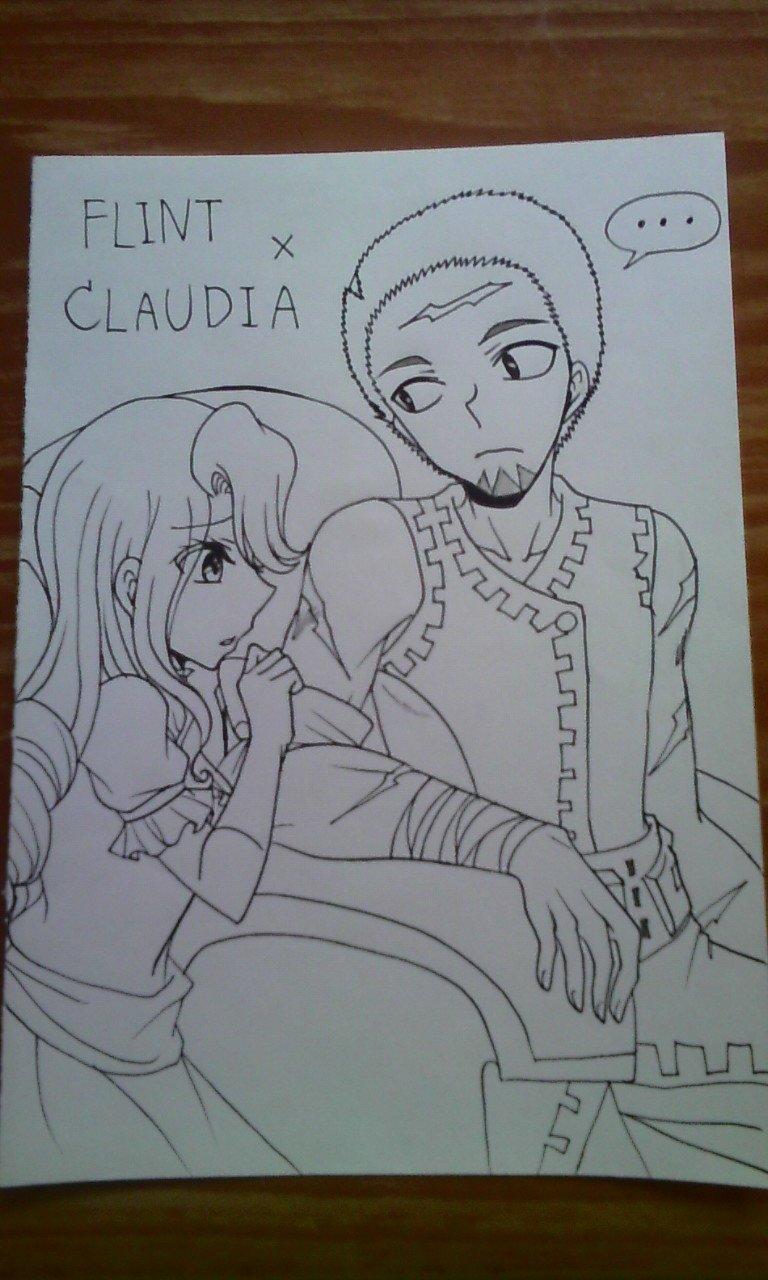 Crossover : Flint x Claudia