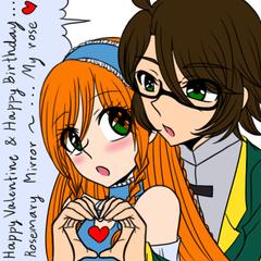OC : Happy Valentine & Happy Birthday