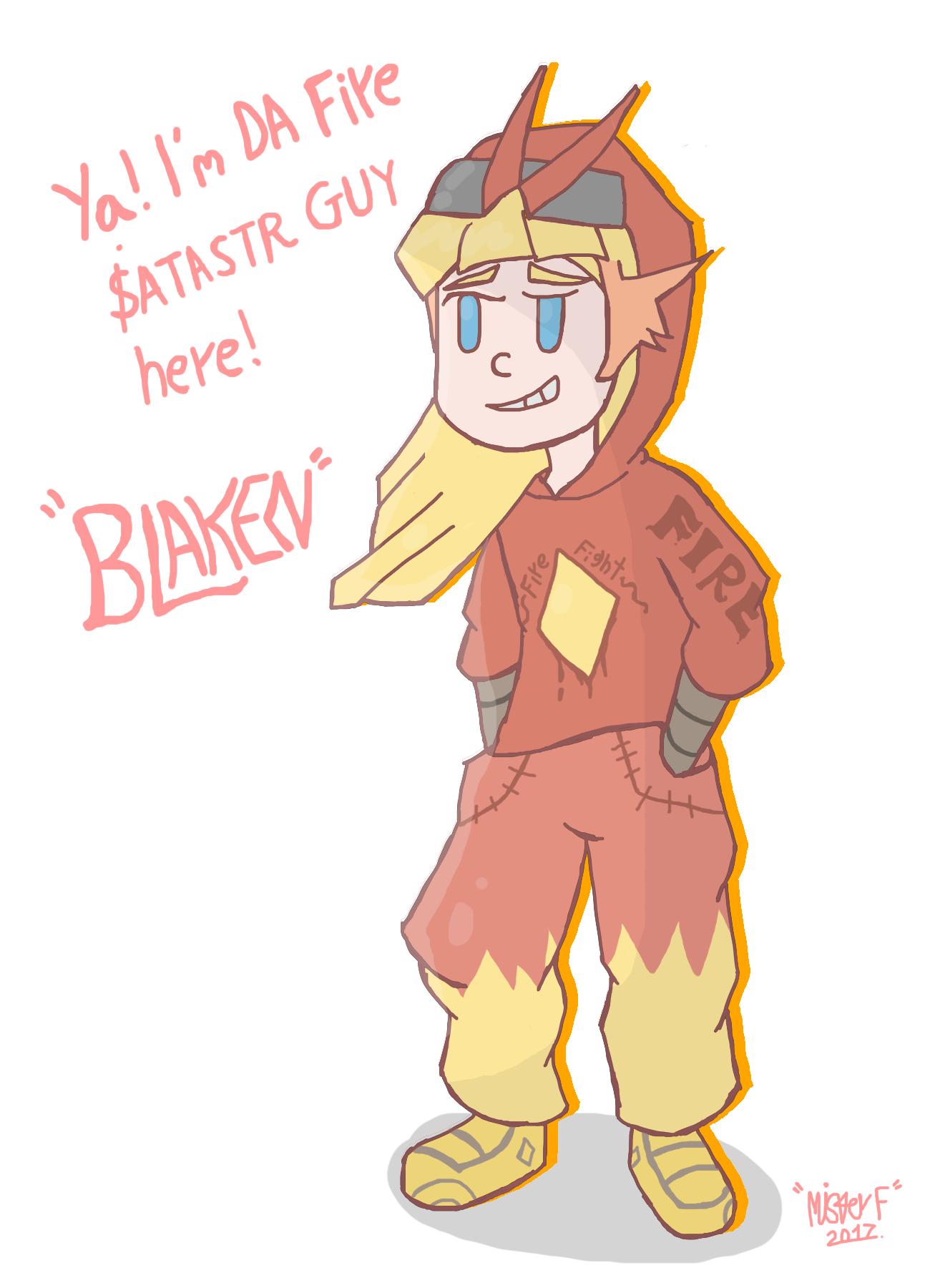 [GIJINKA] DA BLAKEN (Blaziken)