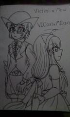 Gijinka : Legendary Couple - Vic x Mii