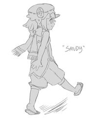 Sandy(Gijinka Ver.?)