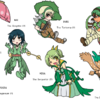 Gijinka : When Grass Starters Change The Clothes (Complete Version)