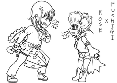 Gijinka : Fushigi x Rose(?)