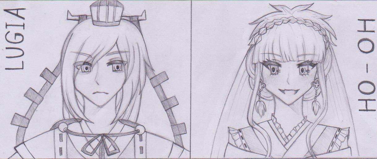 [GIJINKA] Lugia & Ho-Oh