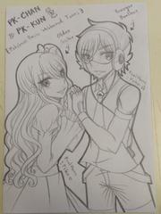 OC : PK-chan & PK-kun