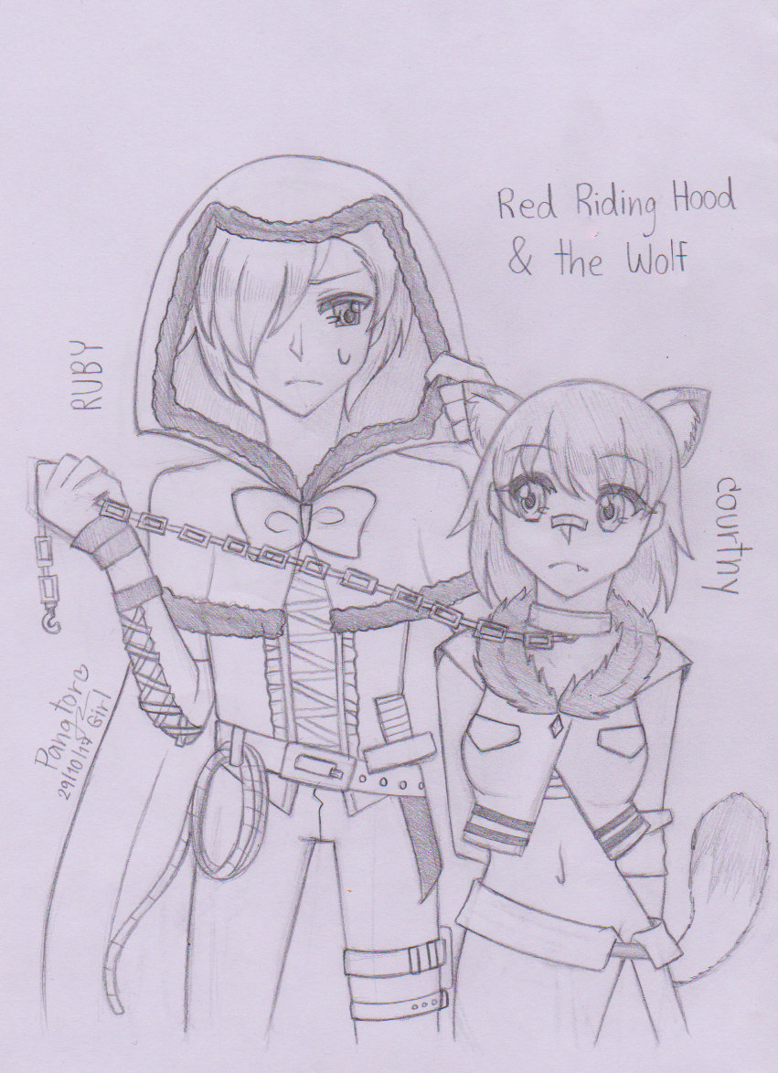 [Fairy Tale] Red riding hood & the Wolf