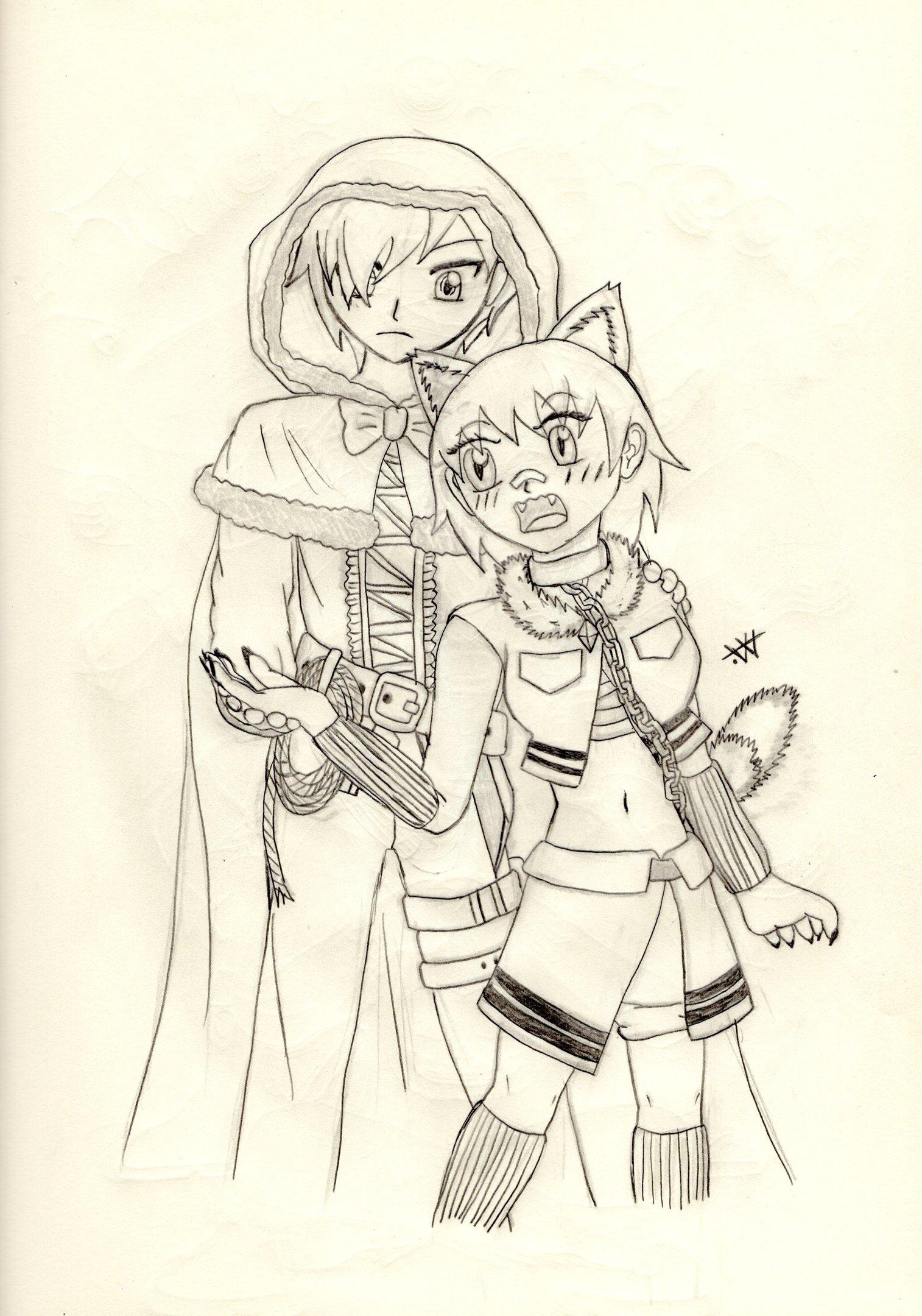 Fanart - Ruby & Courtney