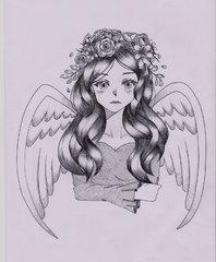 Flowers Angel