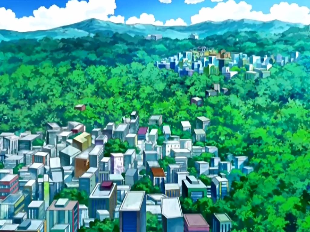 Celestic Town - Sinnoh Region