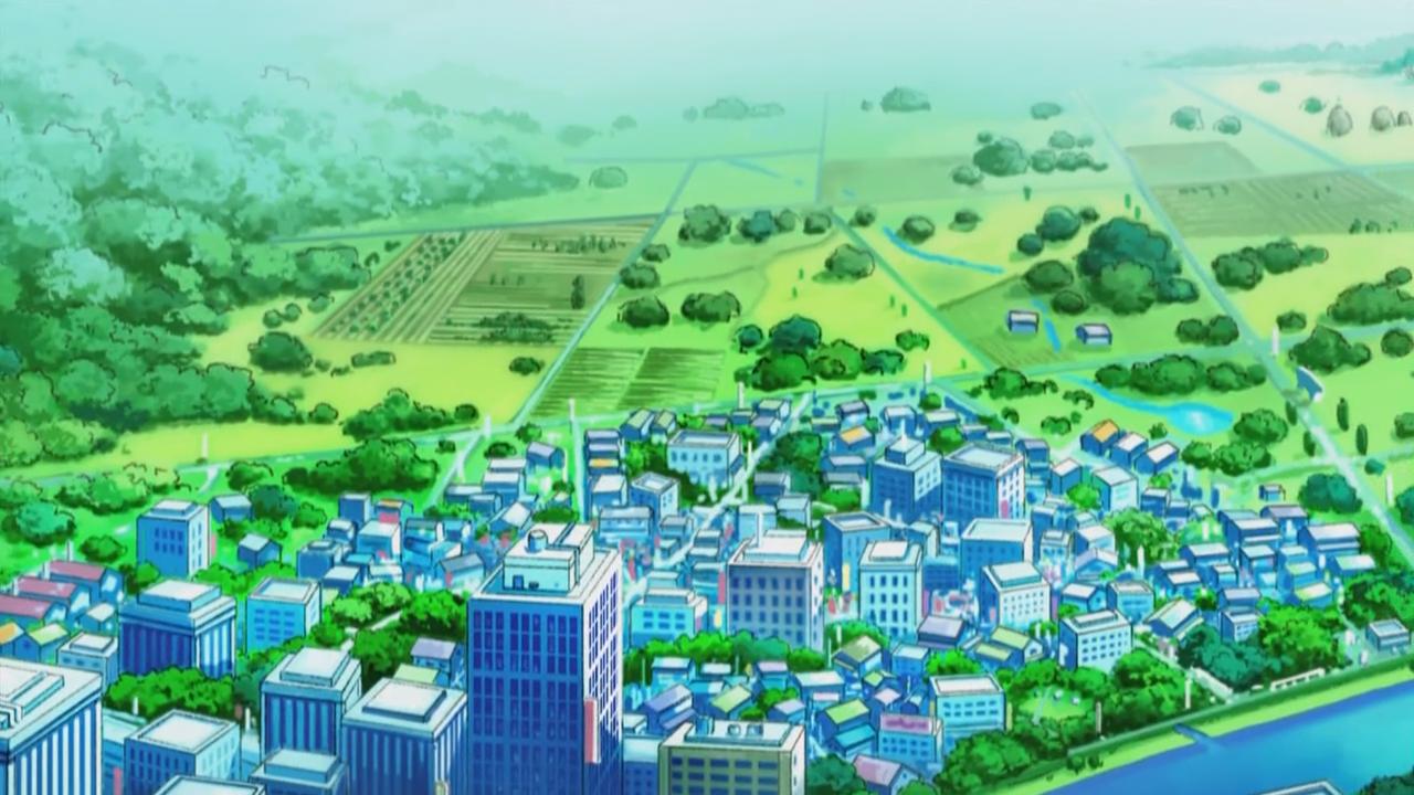 Pewter City - Kanto Region