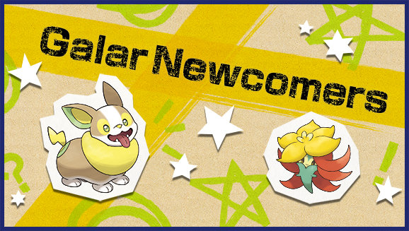 "[SwSh] ""Galar Newcomers"" Online Competition"