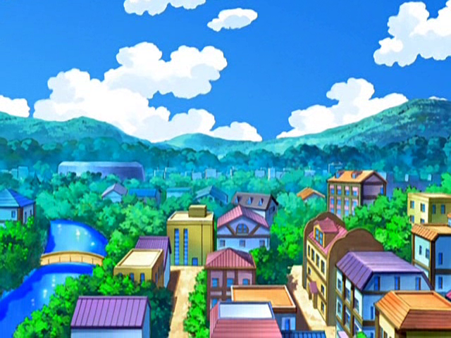 Hearthome City - Sinnoh Region