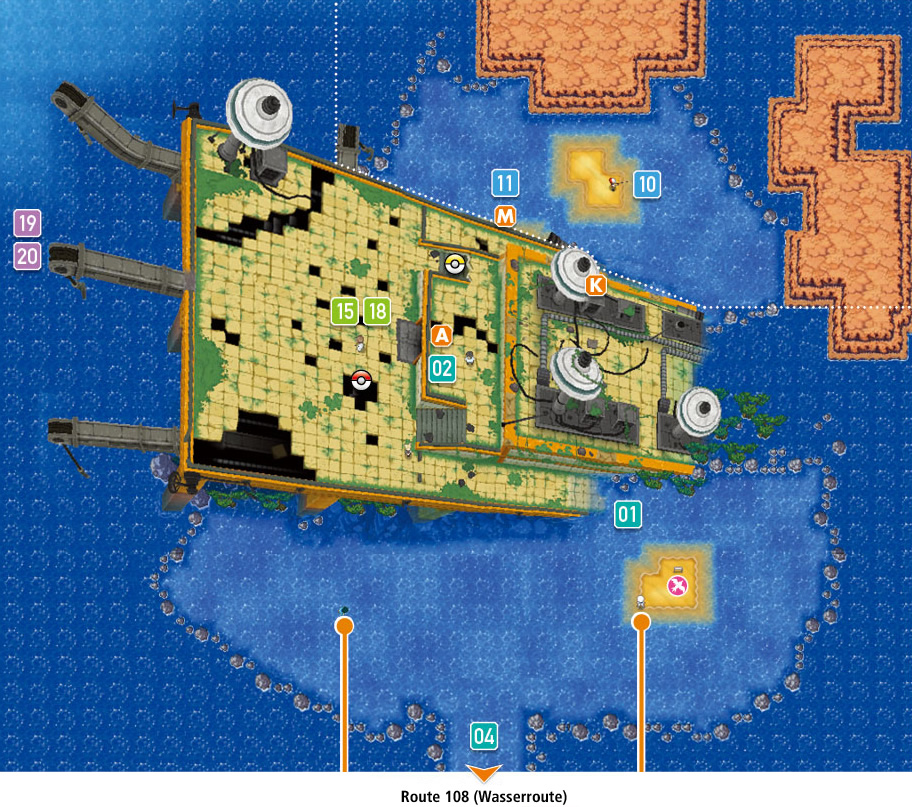 Sea Mauville - Hoenn Region