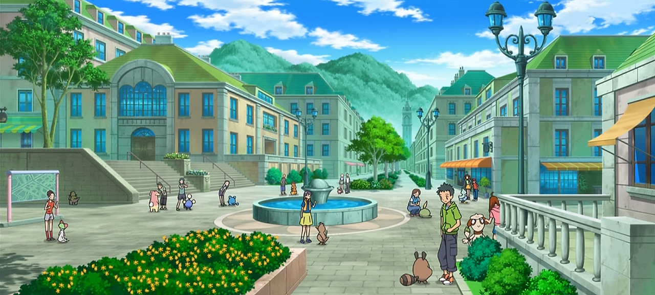Santalune City - Kalos Region