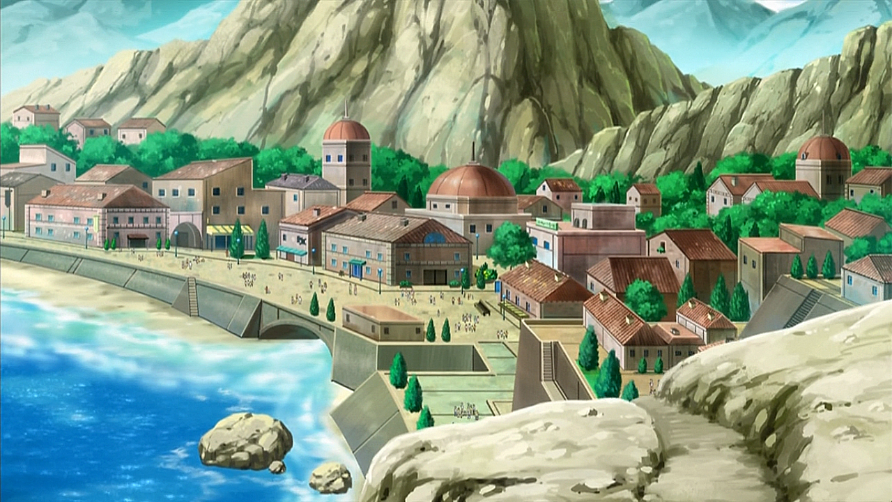 Cyllage City - Kalos Region