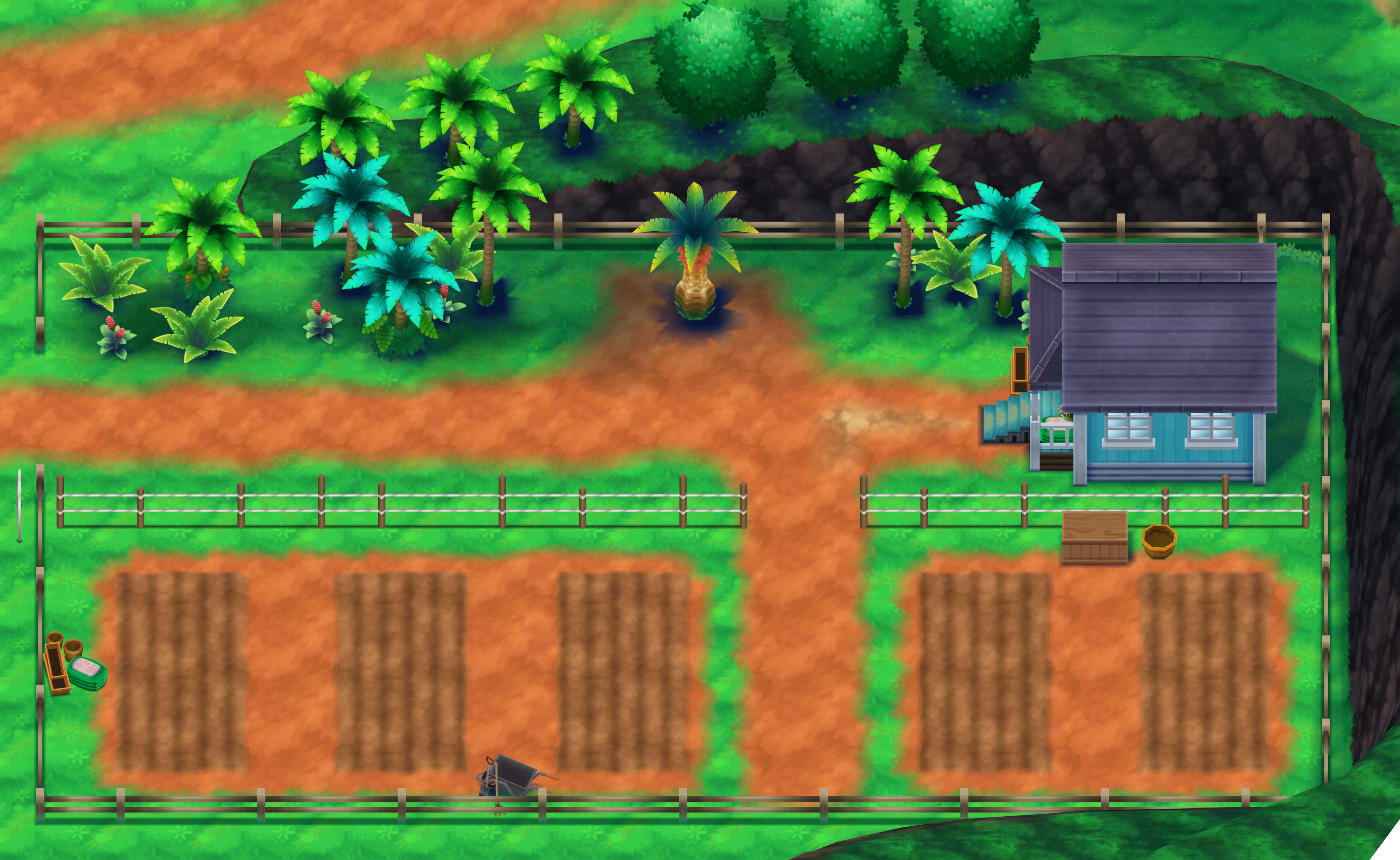 Berry fields - Alola Region