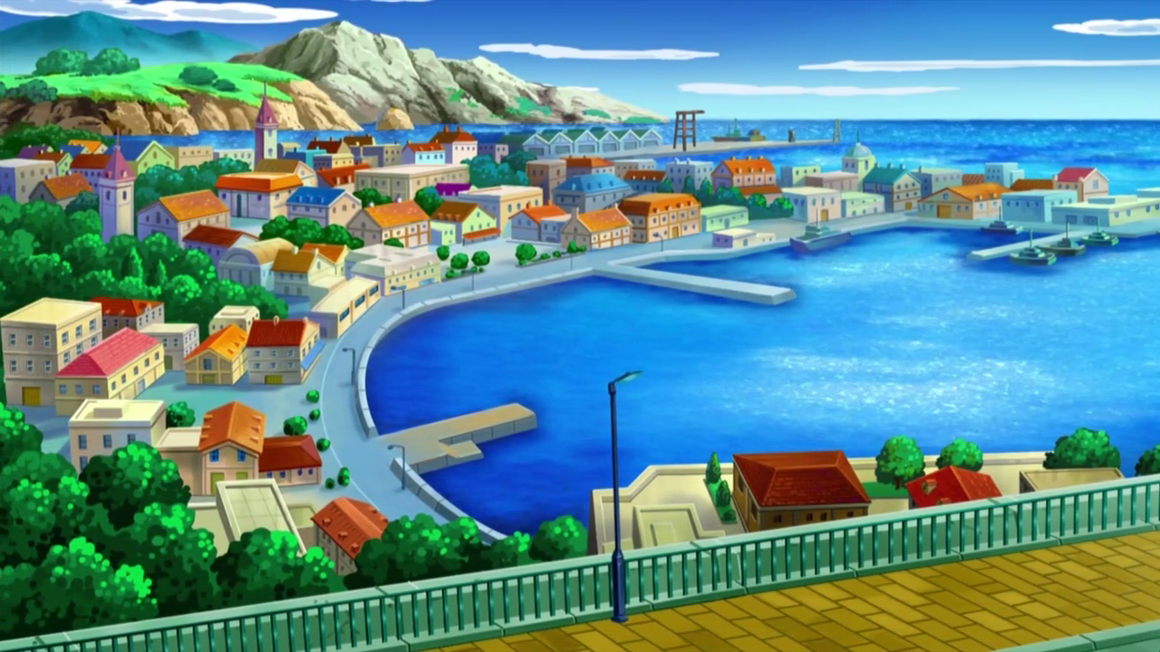 Driftveil City - Unova Region