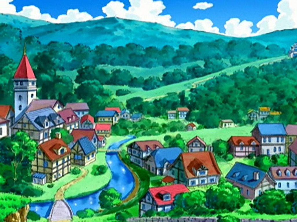 Pastoria City - Sinnoh Region